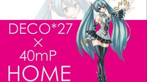 HOME/DECO*27×40mP