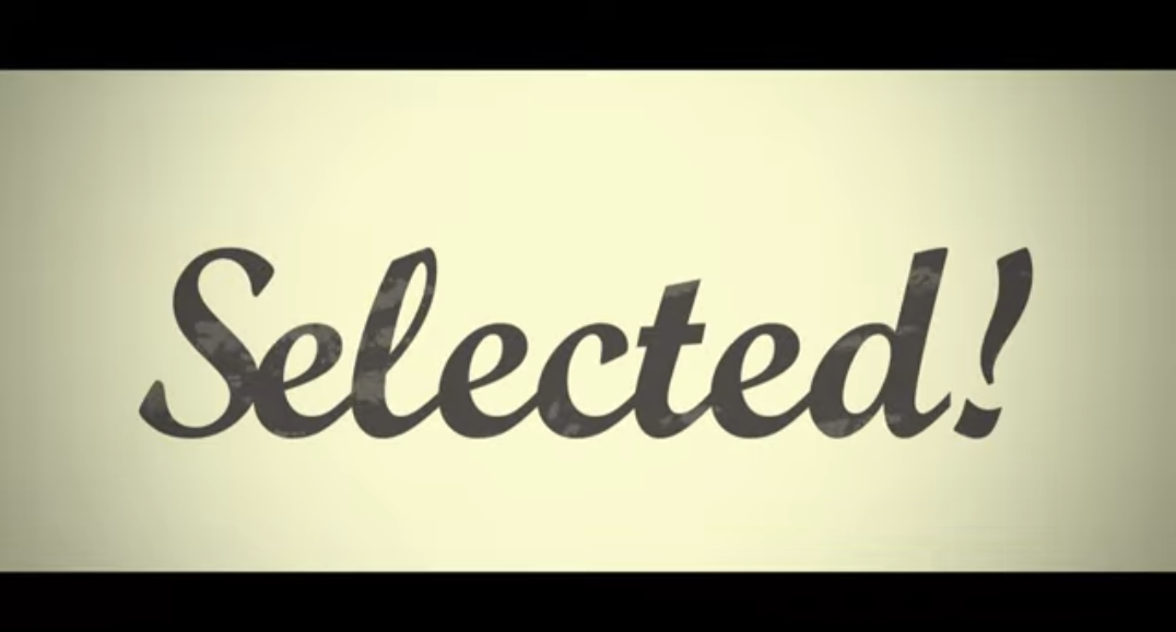 Selected!