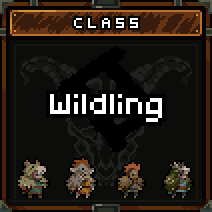 The possible costumes for the Wildling.