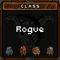 The possible costumes for the Rogue.
