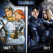 Valerian Movie-Comic