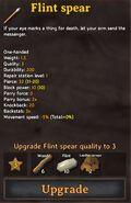 Flint Spear Quality 3