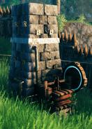 Blast furnace appearance