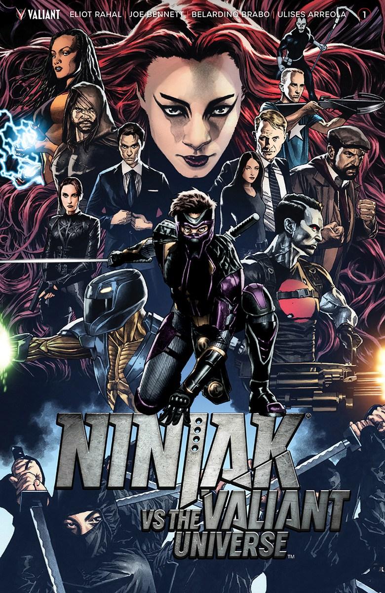 Ninjak Vs. The Valiant Universe Vol 1