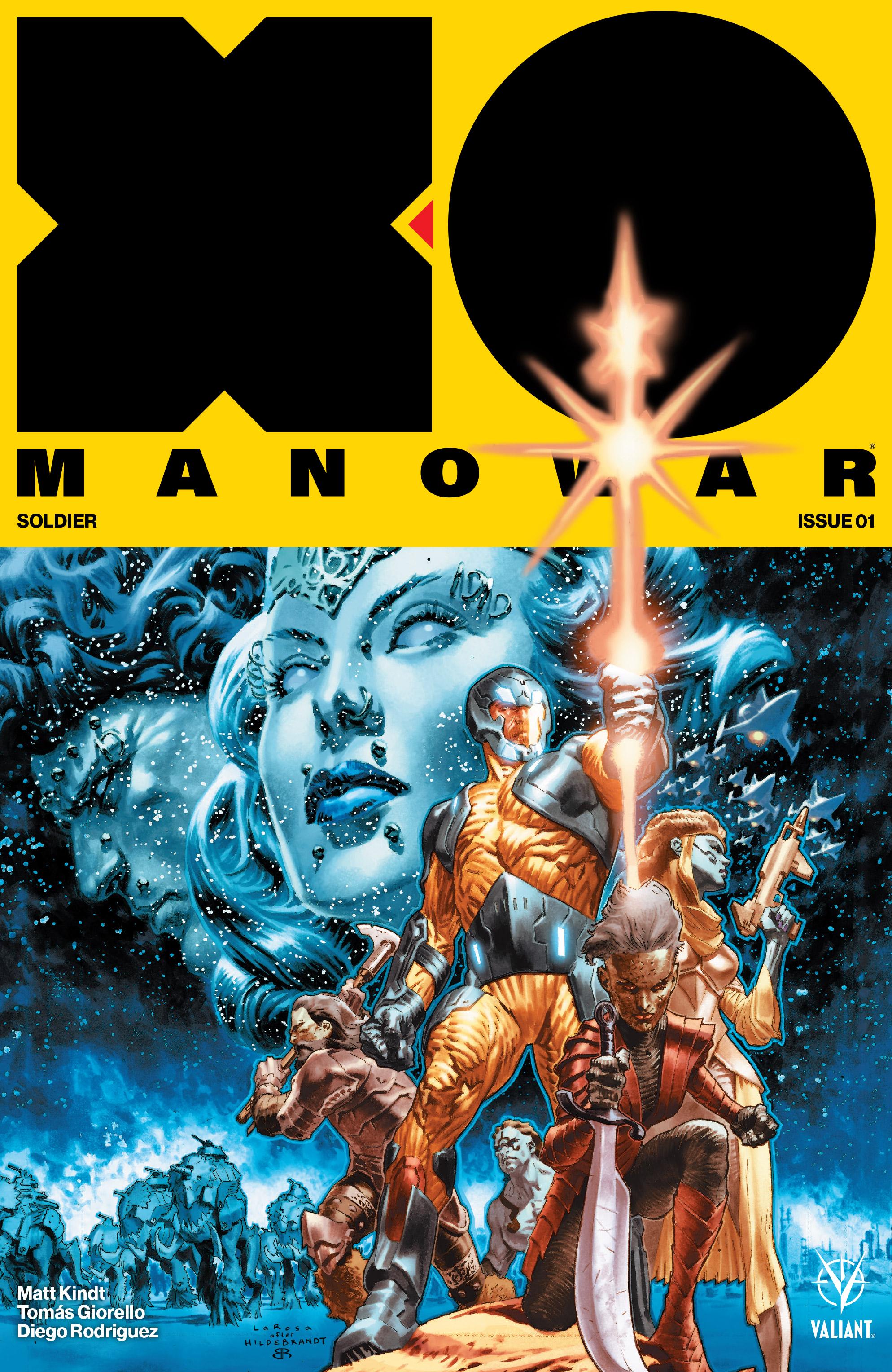 X-O Manowar Vol 4