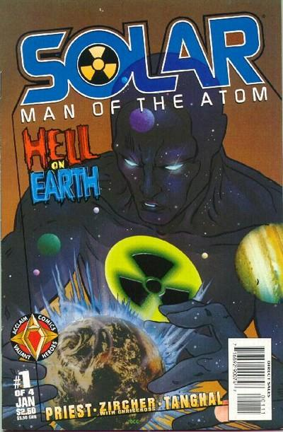 Solar, Man of the Atom: Hell on Earth Vol 1
