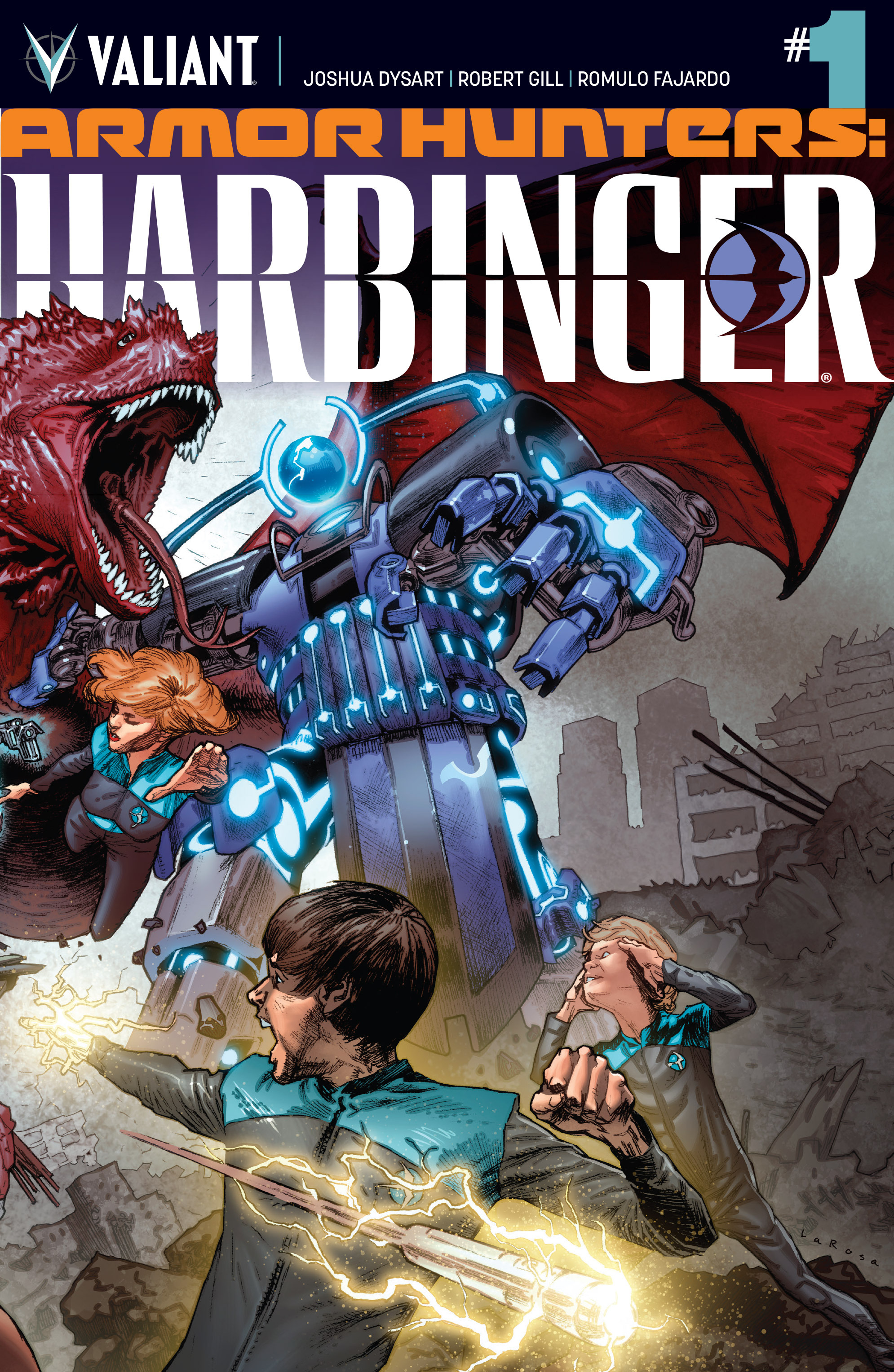 Armor Hunters: Harbinger Vol 1