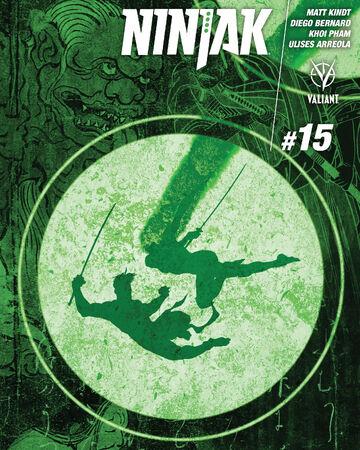 Ninjak Vol 3 15 Valiant Comics Database Fandom