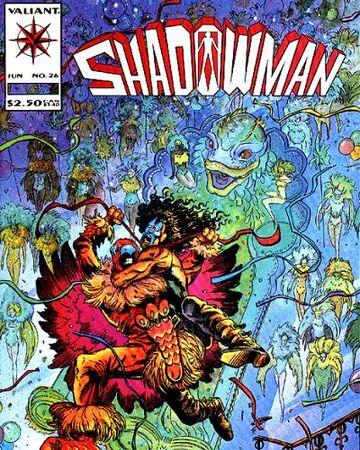Shadowman Vol 1 26 Valiant Comics Database Fandom