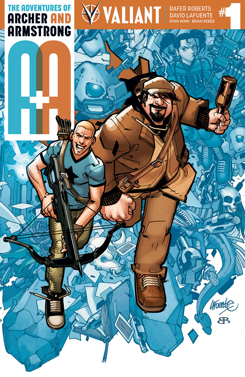 A&A: The Adventures of Archer & Armstrong Vol 1