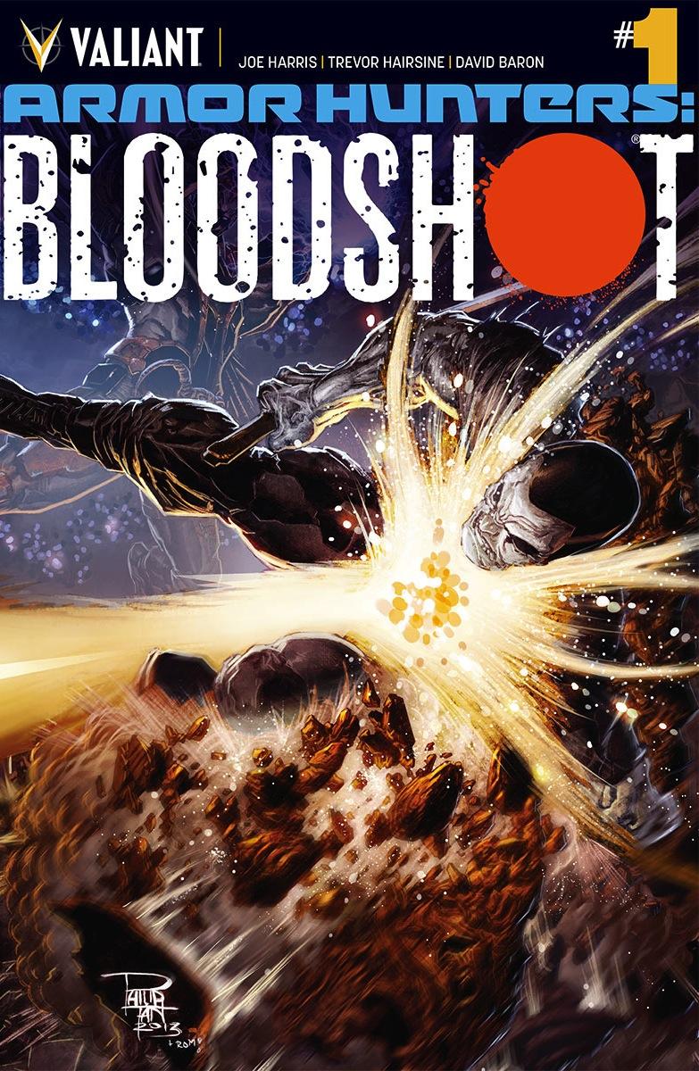 Armor Hunters: Bloodshot Vol 1
