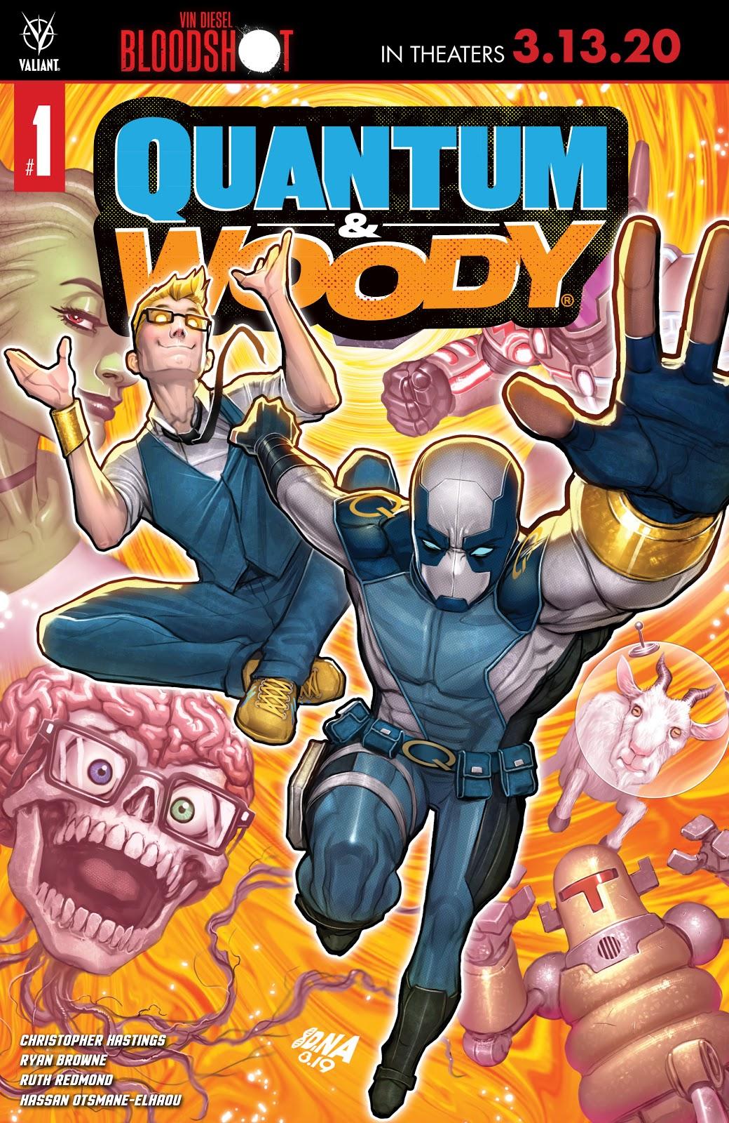 Quantum and Woody Vol 4