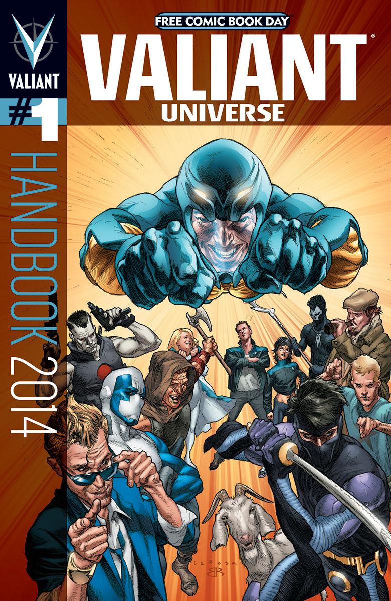 Valiant Universe Handbook Vol 1