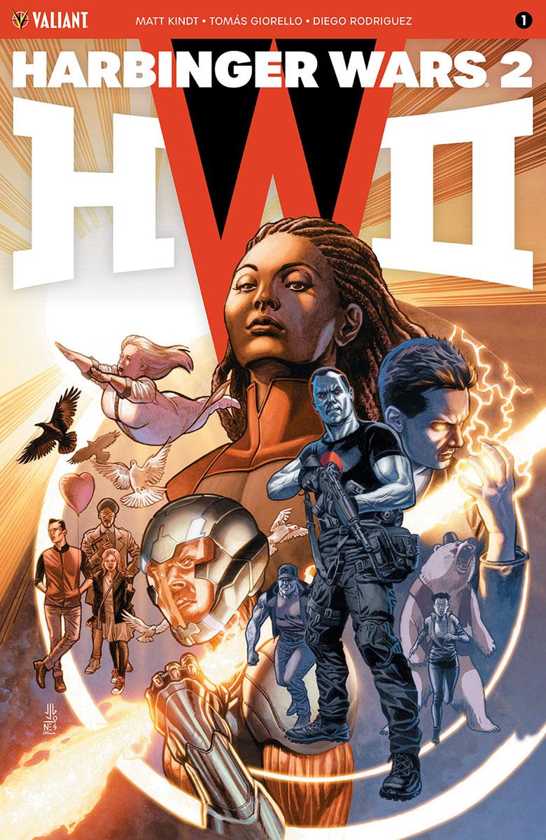 Harbinger Wars 2 Vol 1