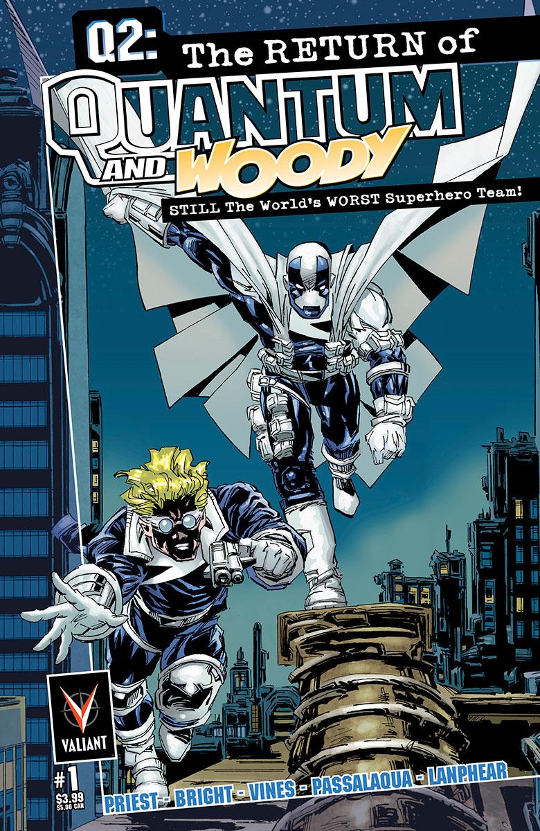 Q2: The Return of Quantum and Woody Vol 1