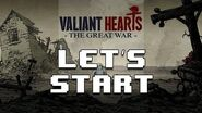 LET'S START VALIANT HEARTS THE GREAT WAR - First impressions - Something Like That