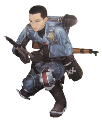 Karl in Valkyria Chronicles.