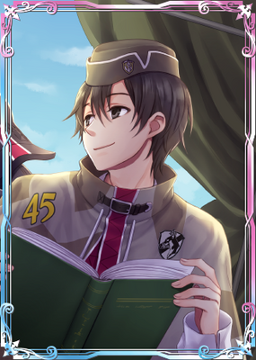 Serge in Valkyria Chronicles Duel.