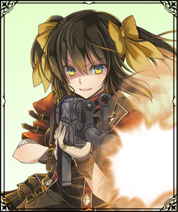 Gisele in Valkyria Chronicles Duel.