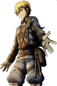 Homer in Valkyria Chronicles 3.