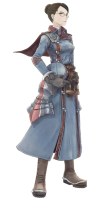 Eleanor in Valkyria Chronicles.