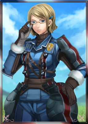 Juno in Valkyria Chronicles Duel.