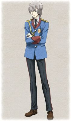 Alexis in Valkyria Chronicles 2.
