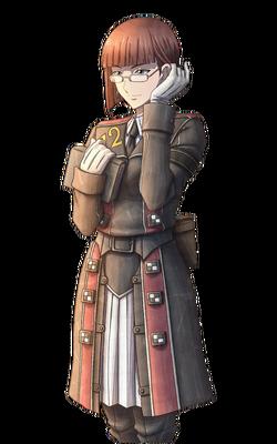 Valerie in Valkyria Chronicles 3.