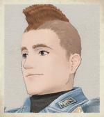 VC Melville Portrait