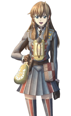Carisa in Valkyria Chronicles 3.
