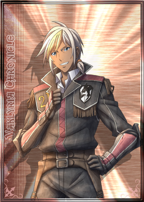 Felix in Valkyria Chronicles Duel.