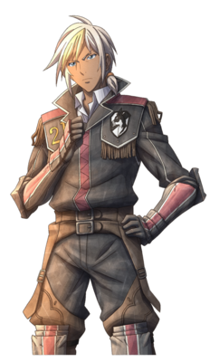 Felix in Valkyria Chronicles 3.