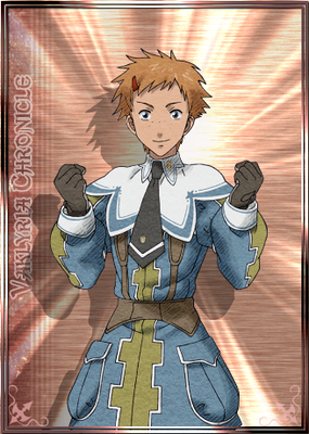 Rene in Valkyria Chronicles Duel.