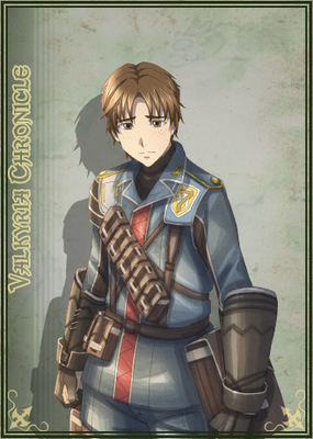 Emile in Valkyria Chronicles Duel.