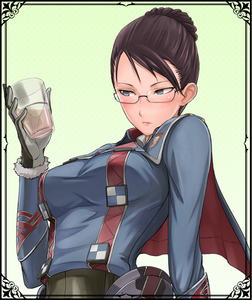 Eleanor in Valkyria Chronicles Duel.