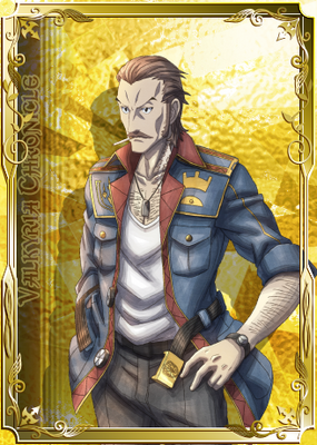 Ramsey in Valkyria Chronicles Duel.