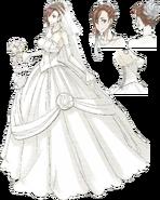 VC3 Riela Wedding Dress Concept Art
