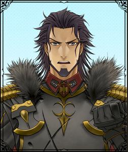 Dahau in Valkyria Chronicles Duel.