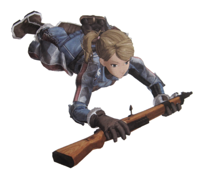 Cherry in Valkyria Chronicles.