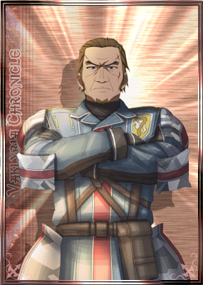 Musaad in Valkyria Chronicles Duel.