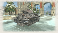 Ass tank winter gatling