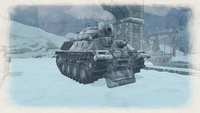 Ass tank mortar winter