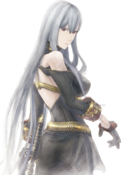 Selvaria in Valkyria Chronicles 2.