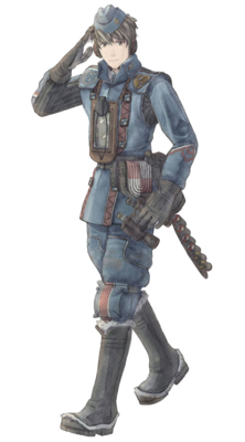 Welkin in Valkyria Chronicles.
