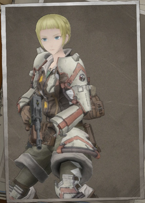 Fleuret Valois in Valkyria Chronicles 4.