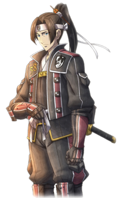 Shin in Valkyria Chronicles 3.