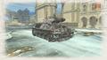 Assault tank flame winter