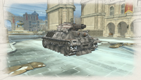 Assault tank flame winter