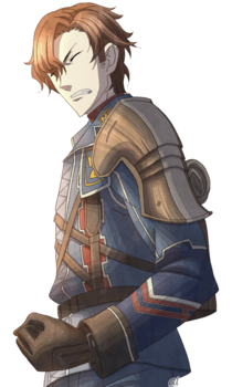 Hubert in Valkyria Chronicles 3.