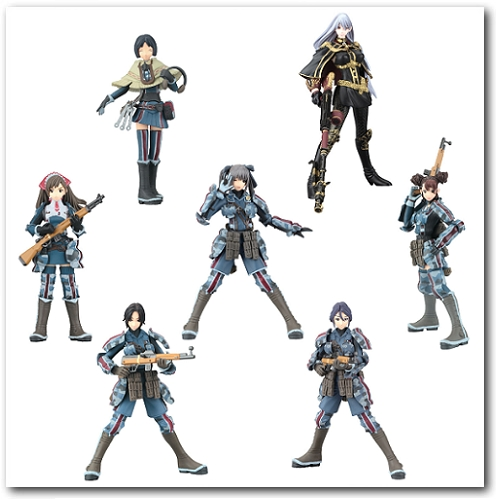 Valkyria Chronicles Trading Figure Collection
